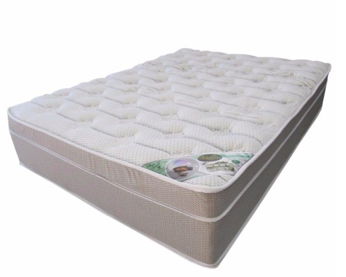 Queen size memory foam mattress-Q-aloe no turn