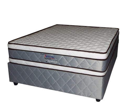 Double euro top bed-Sensation
