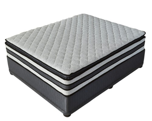 King size memory foam gel bed-Ortho tec
