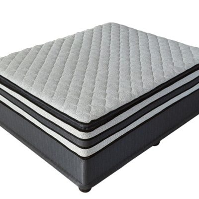 Queen size memory foam gel bed-Ortho tec