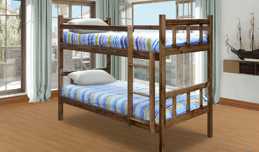 wooden bunk bed kyle