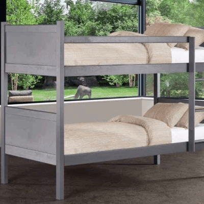 Wooden bunk beds