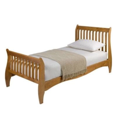 Single sleigh beds